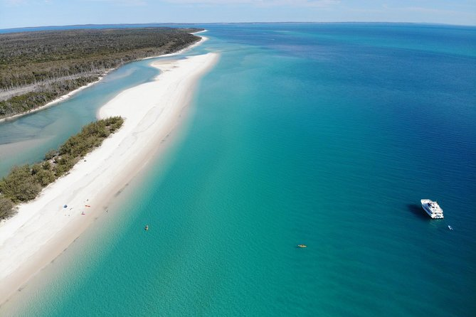 Fraser Island West Coast BBQ Lunch Cruise from Hervey Bay Including Kayaking and Swimming - Sunshine Coast Tourism