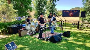 Angas Plains Wines Live in the Vines with the band -Wisky Jak - Sunshine Coast Tourism