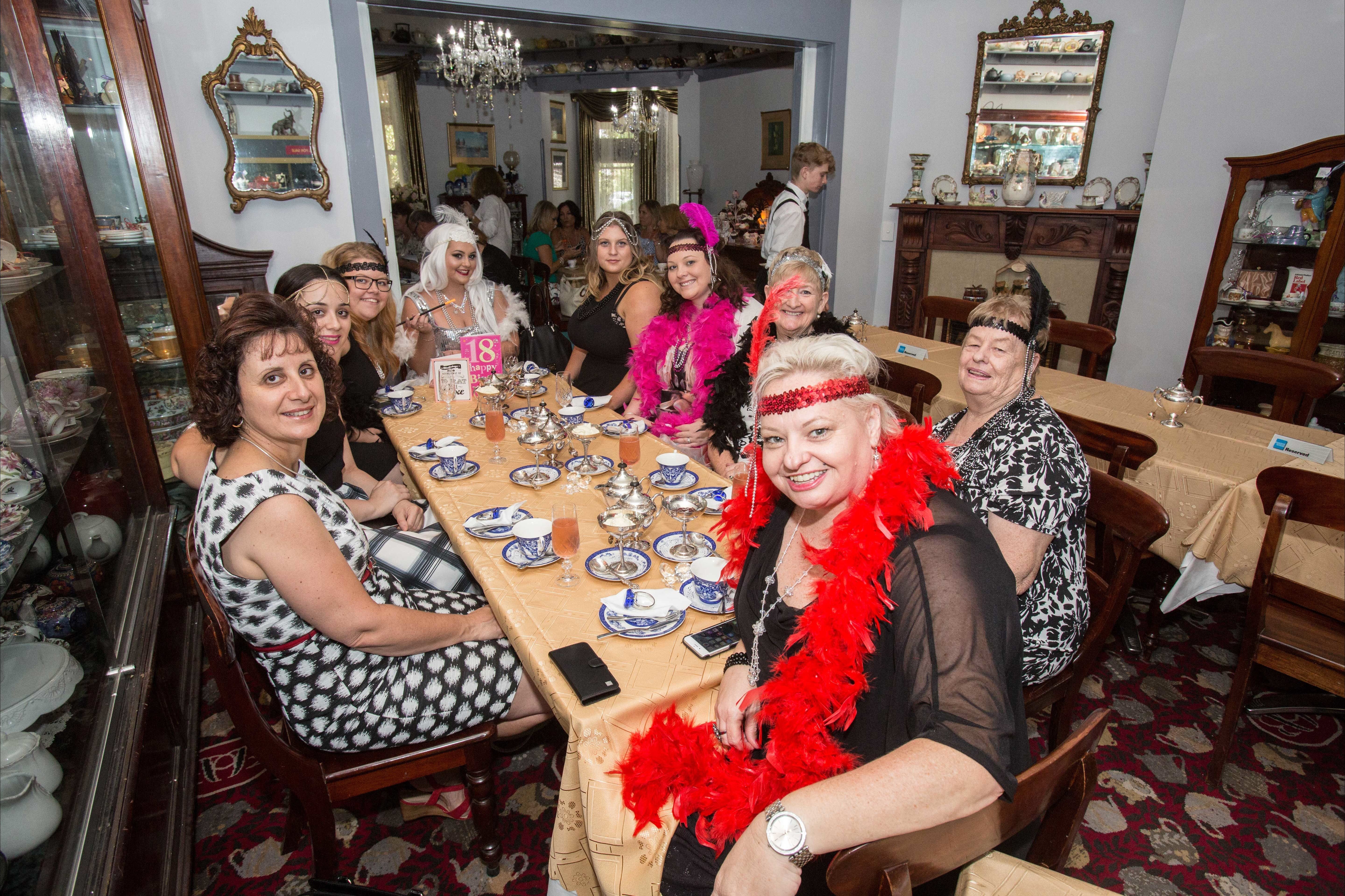 Bygone Beauty's Traditional High Tea Supreme for Good Food Month. - Sunshine Coast Tourism