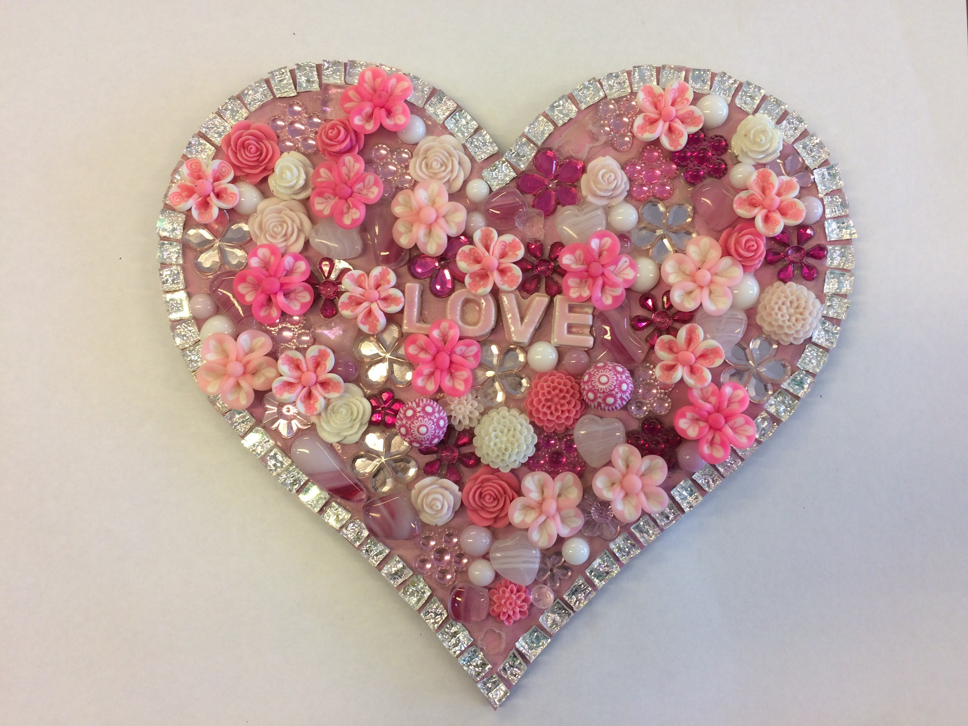 Flowers and Bling Mosaic Class for Kids - Sunshine Coast Tourism