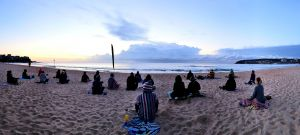 Making Meditation Mainstream Free Beach Meditation Sessions - Avalon Beach - Sunshine Coast Tourism