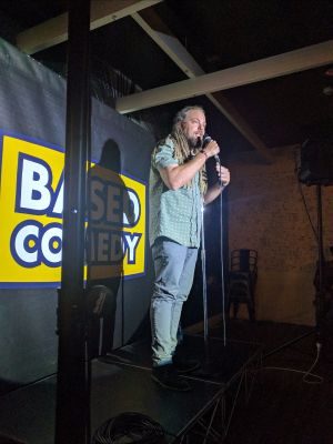 Based Comedy at The Palm Beach Hotel - Sunshine Coast Tourism