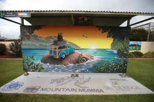 Davies Construction International Mural Fest - Sunshine Coast Tourism