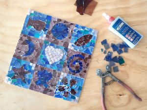 Intro to Mosaics Weekend with Leadlight By Ettore - Sunshine Coast Tourism