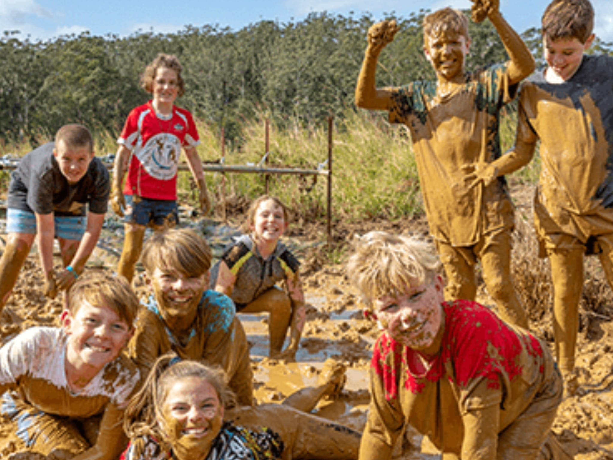Mini Muddies Obstacle Challenge at Bunnamagoo Estate - Sunshine Coast Tourism