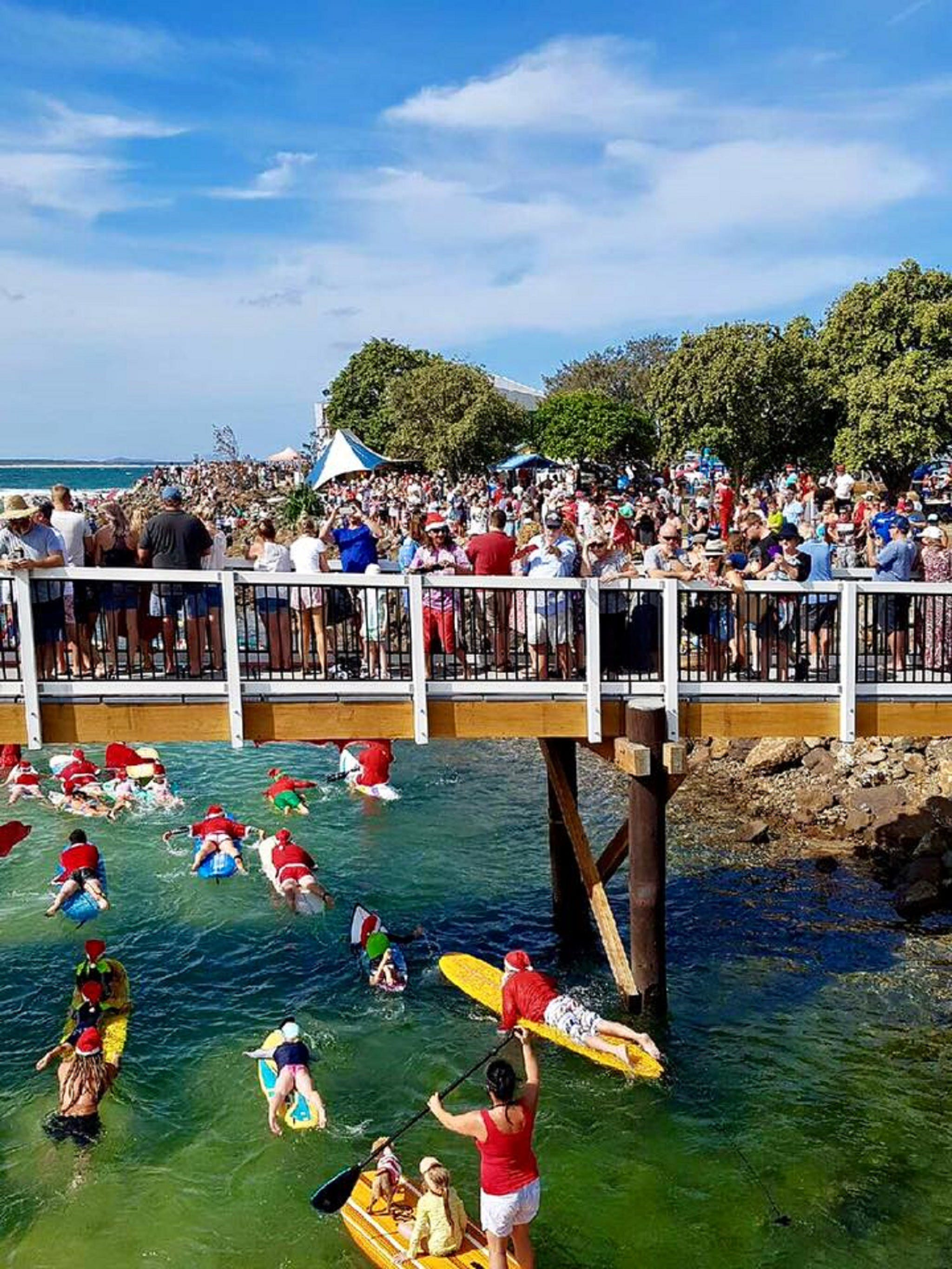 The Crescent Head Santa Surf - Sunshine Coast Tourism