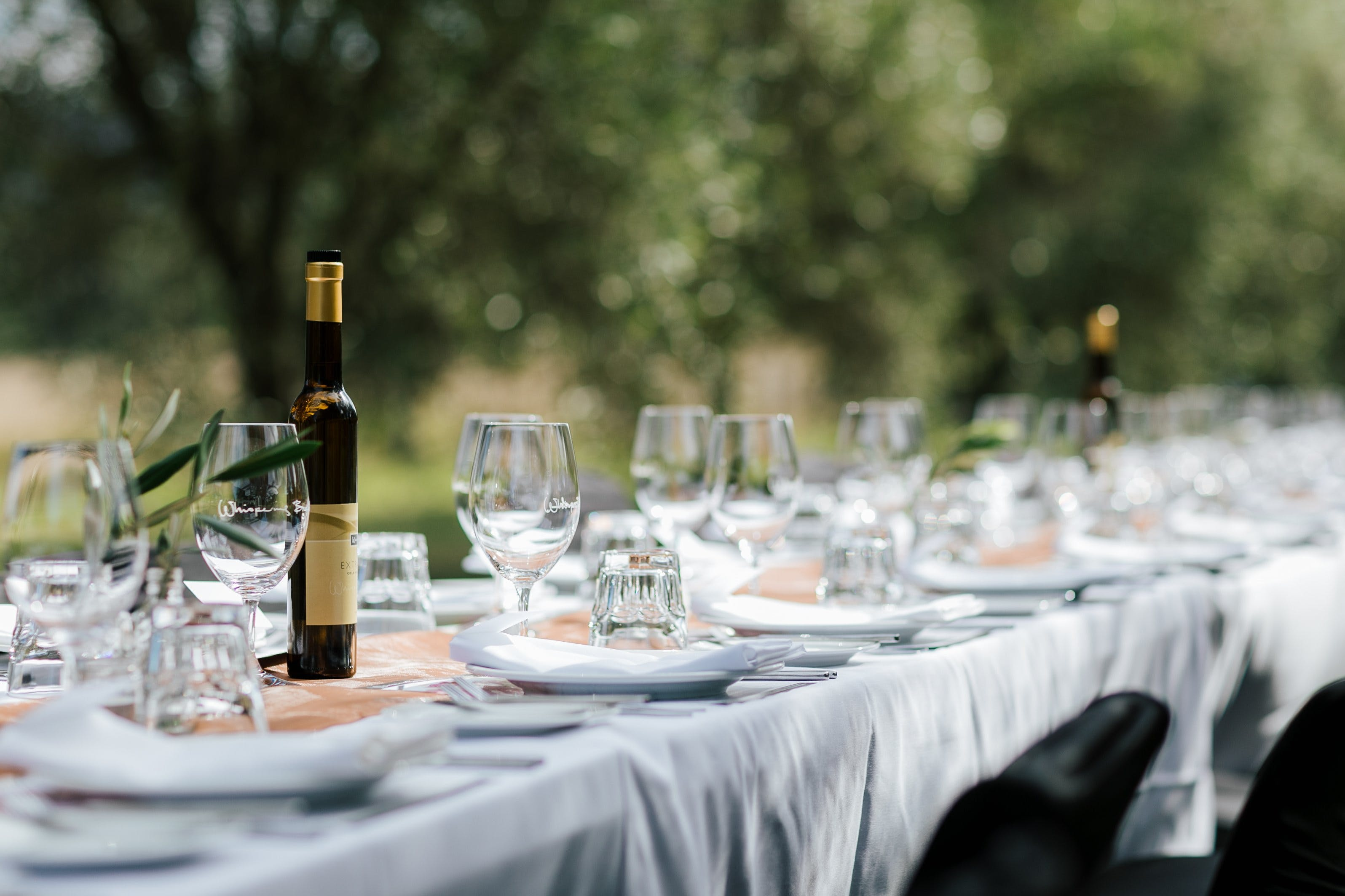 Whispering Brook Olive Long Table Luncheon - Sunshine Coast Tourism