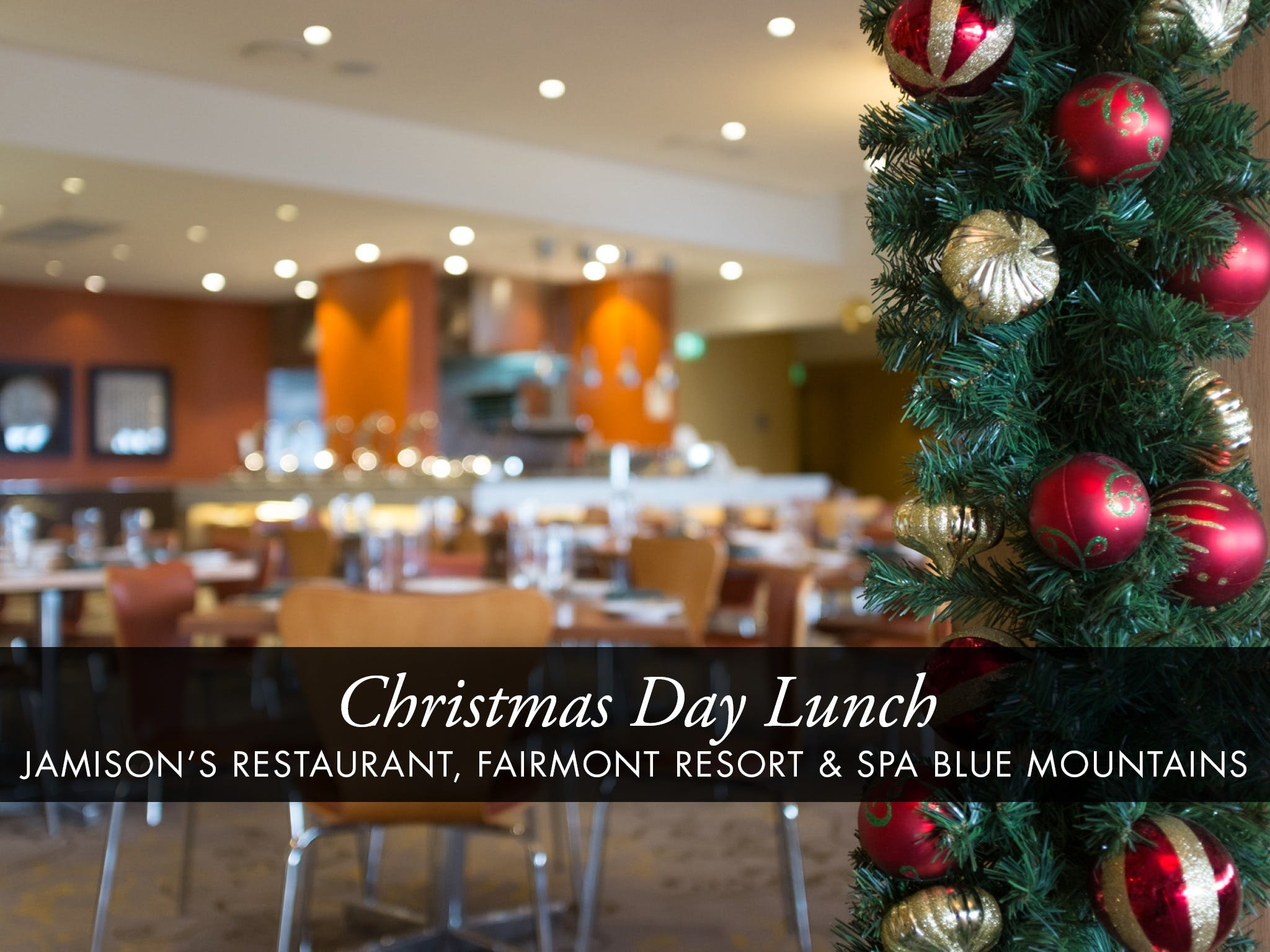 Christmas Day Buffet Lunch at Jamison's Restaurant - Sunshine Coast Tourism