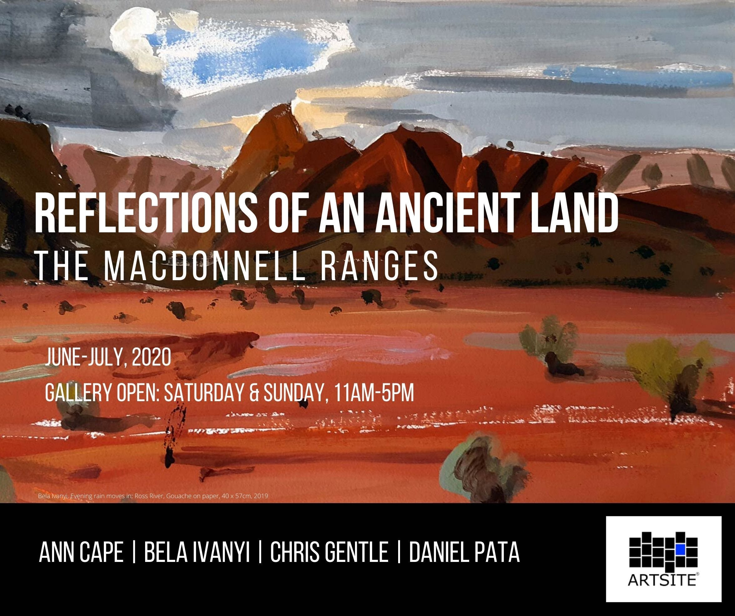 Reflections of An Ancient Land The MacDonnell Ranges - Sunshine Coast Tourism