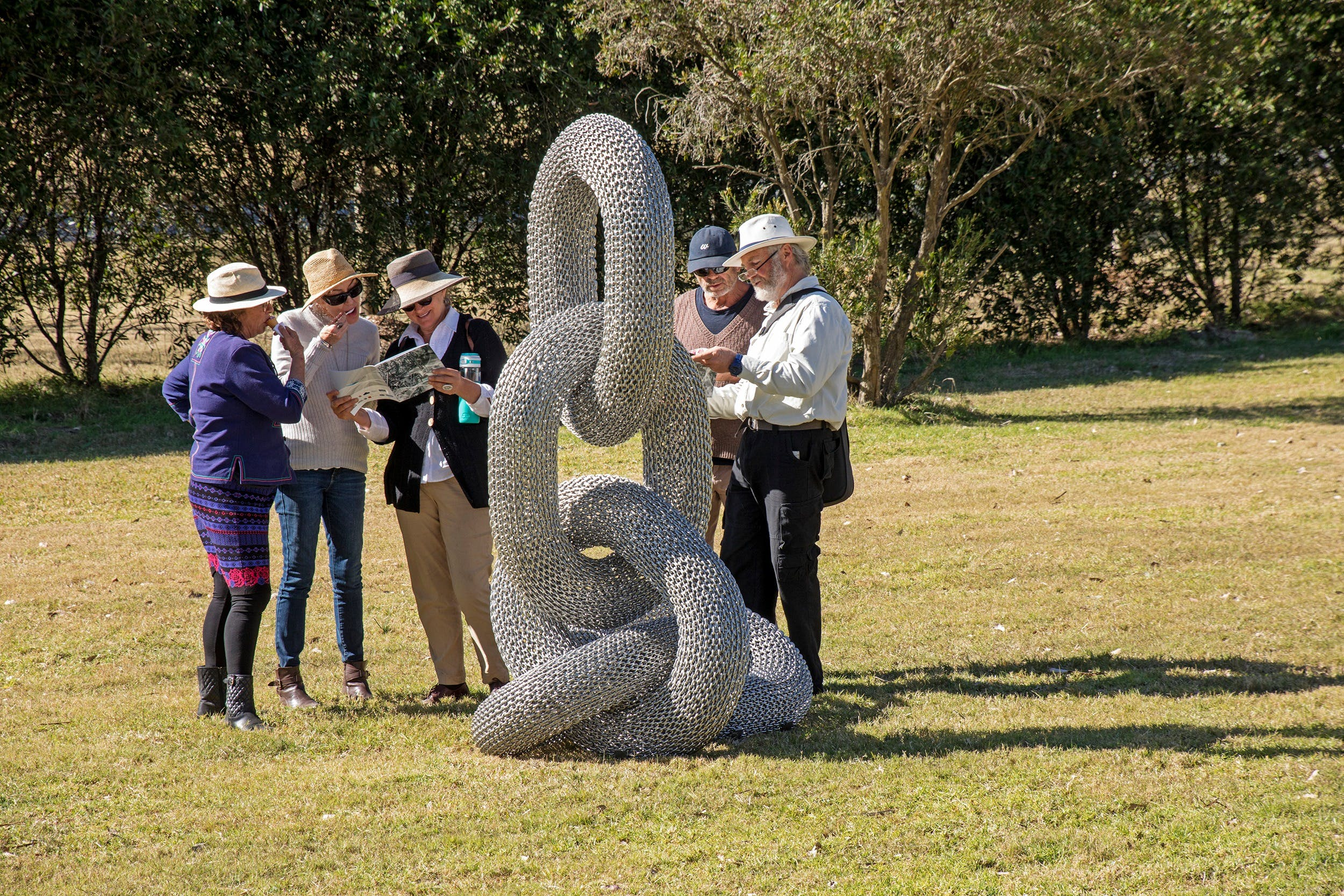 Sculpture for Clyde - Outdoor Exhibition - Sunshine Coast Tourism