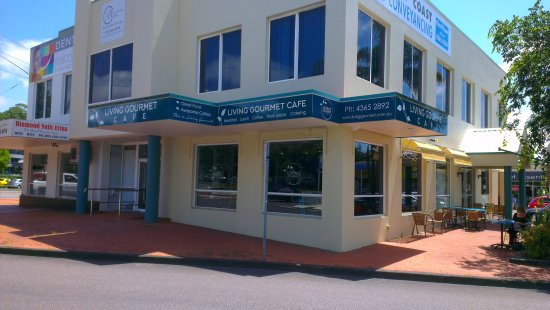 Living Gourmet Cafe - Sunshine Coast Tourism