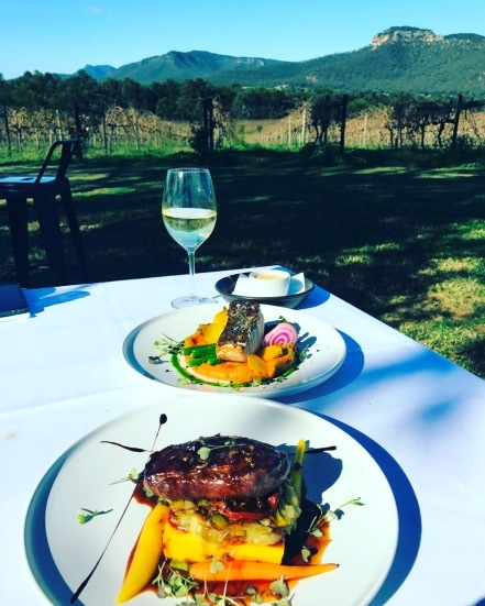 Mount Broke Wines Restaurant - Sunshine Coast Tourism