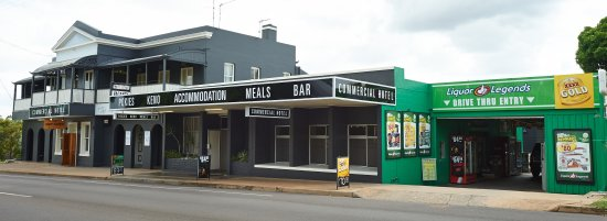 Commercial Hotel Day Dawn Restaurant - Sunshine Coast Tourism